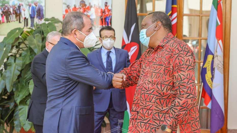 بوقدوم يحل في رابع دول إفريقية.. الجزائر وكينيا يتمسكان بالحل السياسي في الأزمات الافريقية