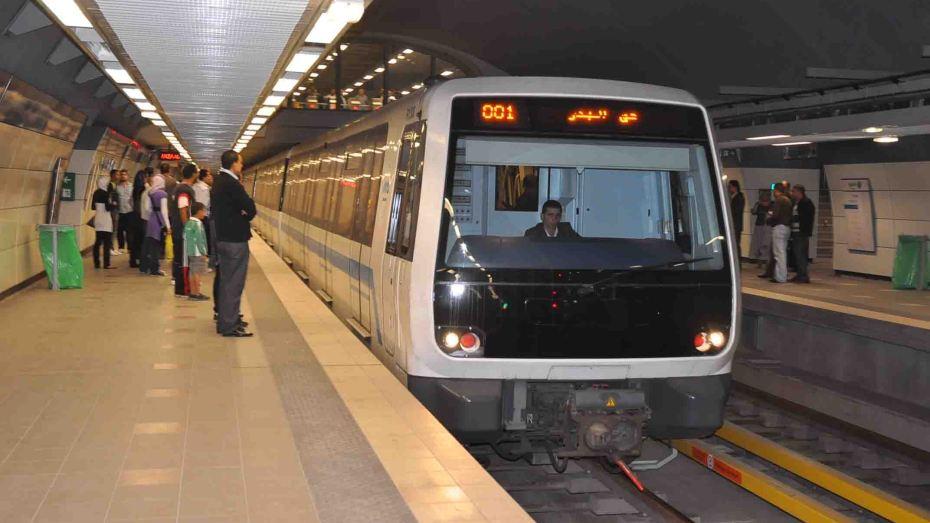 ميترو الجزائر سيوفر الأطقم الطبية داخل المحطات