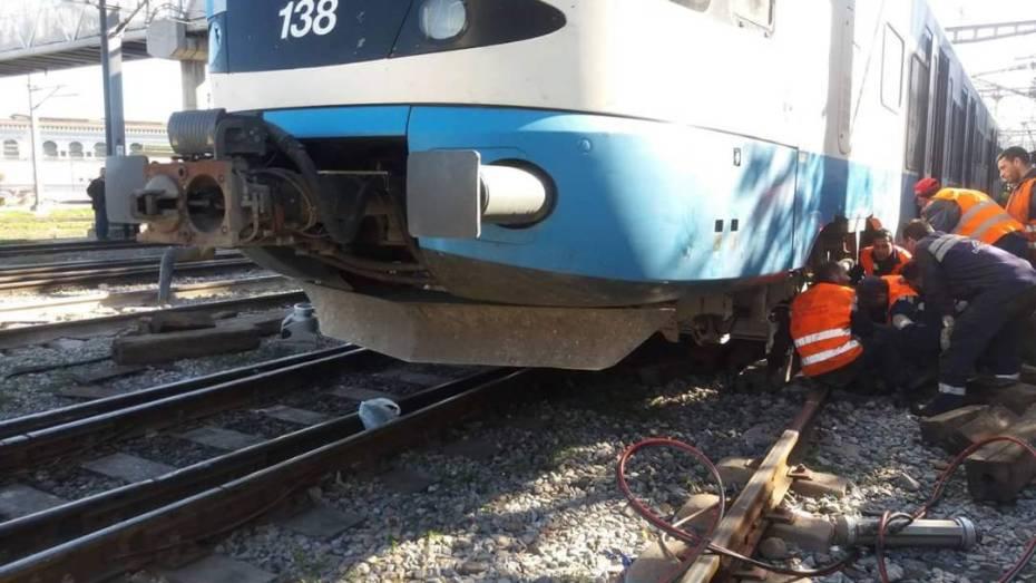 حادث دهس يتسبب في اضطراب حركة القطارات