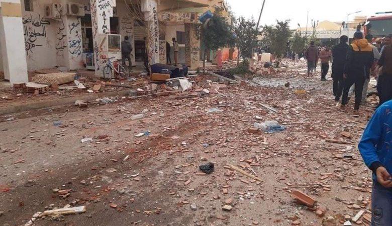 17 ضحية في انفجار للغاز بالأغواط