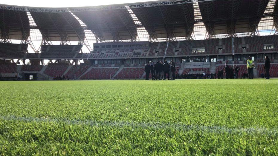 الخضر يواجهون منتخبا عالميا بملعب وهران الجديد.. ماذا قال بلماضي عن أرضيته؟