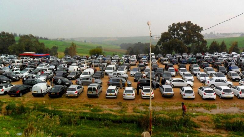 تأجيل إعادة فتح أبواب سوق تيجلابين للسيارات المستعملة