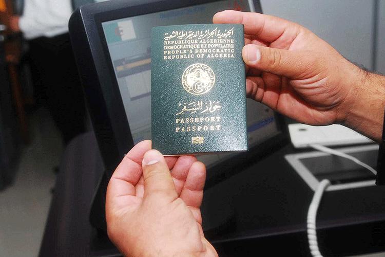 جواز السفر الجزائري يتذيل الترتيب العالمي