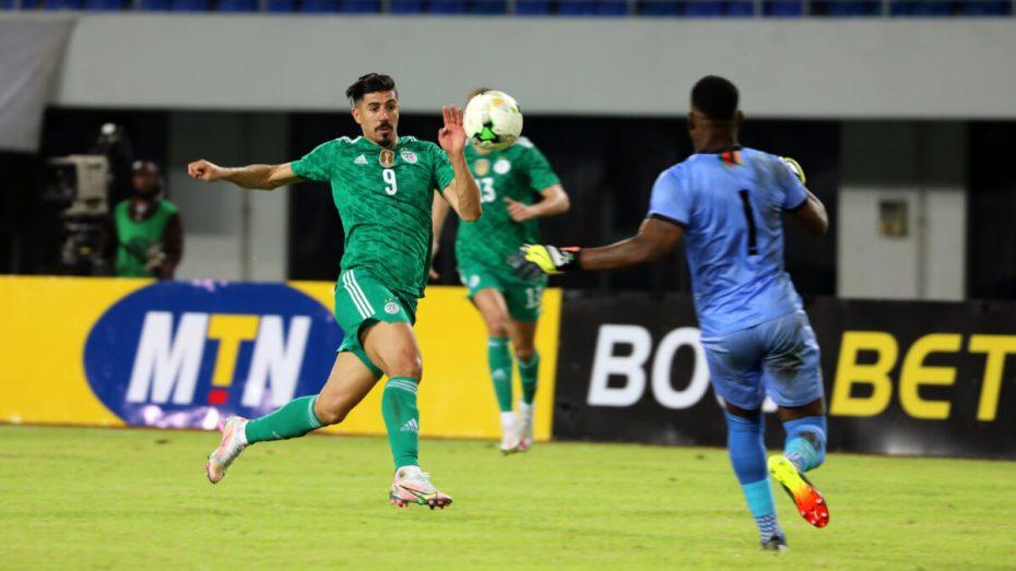 بونجاح يُقدّم أرقاما مُميزة في مشواره رفقة المنتخب الوطني الجزائري