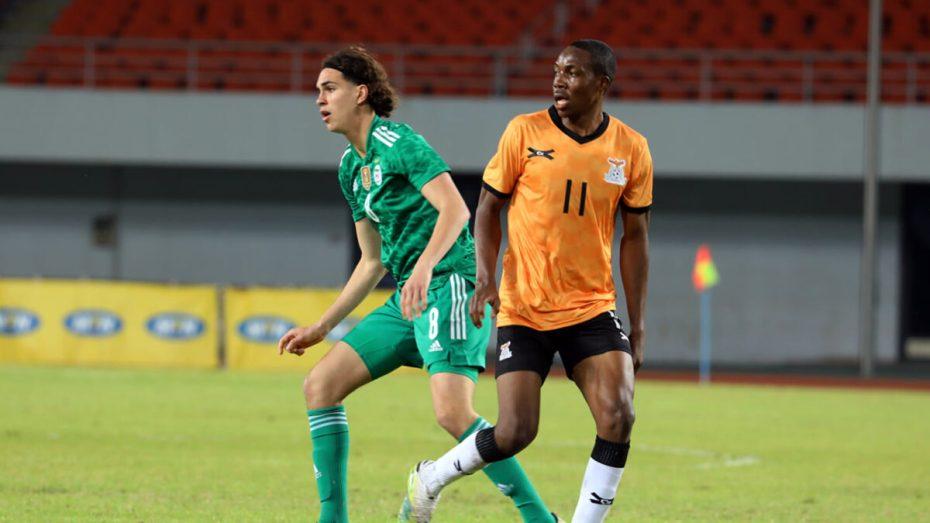 زروقي يواصل تفاعله الافتراضي مع استدعائه الأول لتمثيل المنتخب الوطني الجزائري