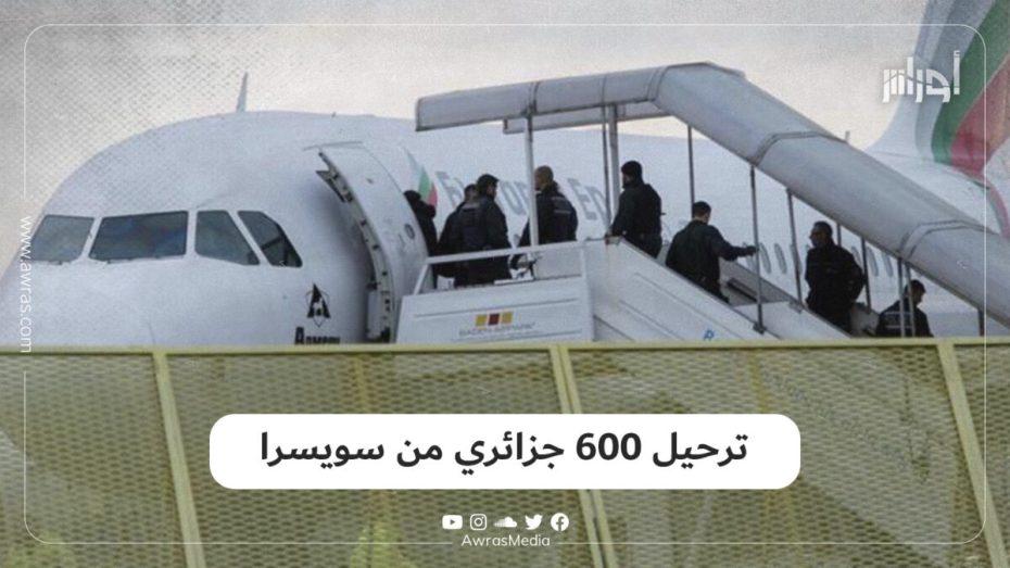 ترحيل 600 جزائري من سويسرا