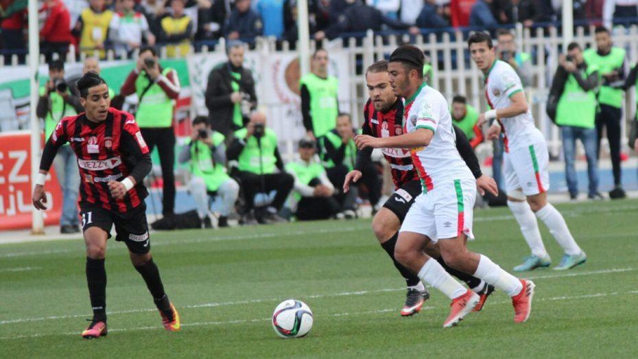 """الرابطة الوطنية تُغيّر توقيت مباراة ديربي الكرة الجزائرية بن """"الاتحاد"""" وضيفه """"المولودية"""""""