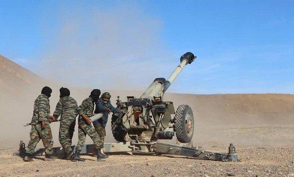 الجيش الصحراوي يواصل هجماته على مواقع قوات الاحتلال المغربي