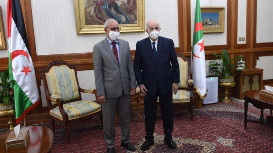 الرئيس تبون يعزي نظيره الصحراوي إثر فقدان والدته