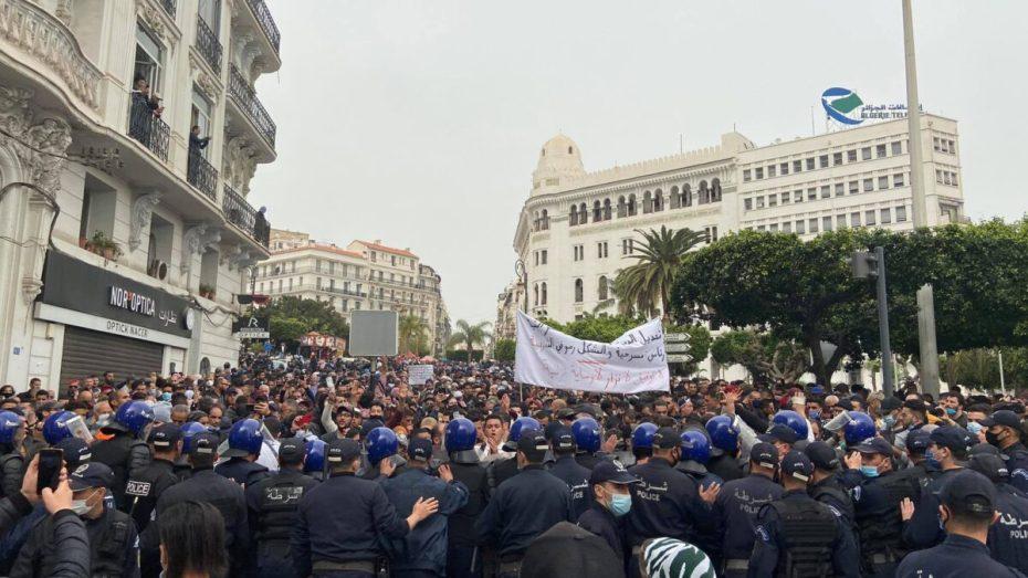 بالفيديو.. مسيرة سلمية جديدة للطلبة وسط العاصمة