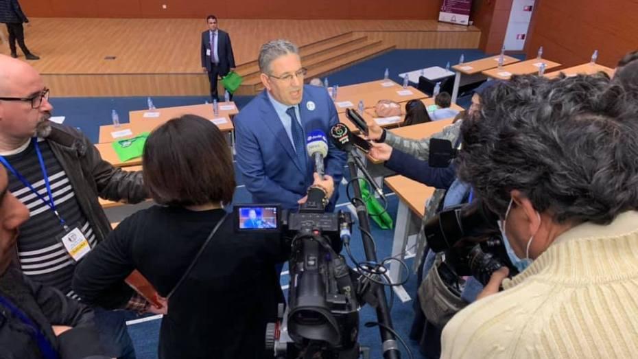 سعيد إيرزي: لا نقبل المزيادات على مؤسسة لخضر بورقعة وسنفضح المتاجرين باسمه