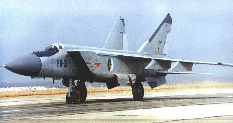 طائرات الجزائر ضمن قائمة أخطر المقاتلات الاعتراضية في العالم
