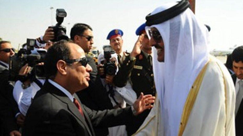 لأول مرة منذ المصالحة الخليجية.. أمير قطر يهنئ السيسي بحلول رمضان