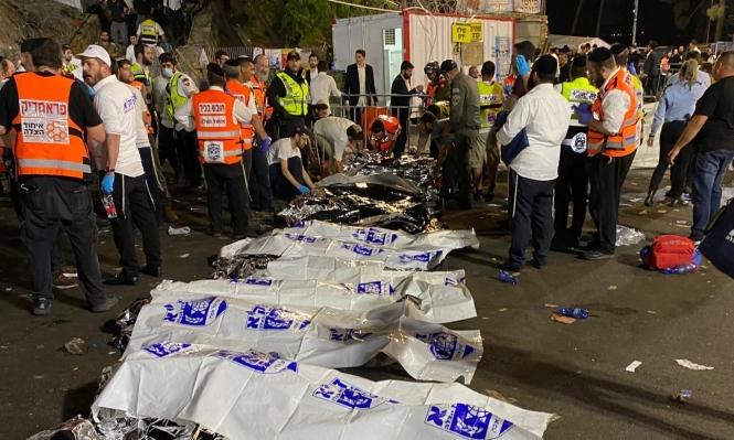 ارتفاع عدد ضحايا التدافع بمهرجان يهودي بفلسطين المحتلة