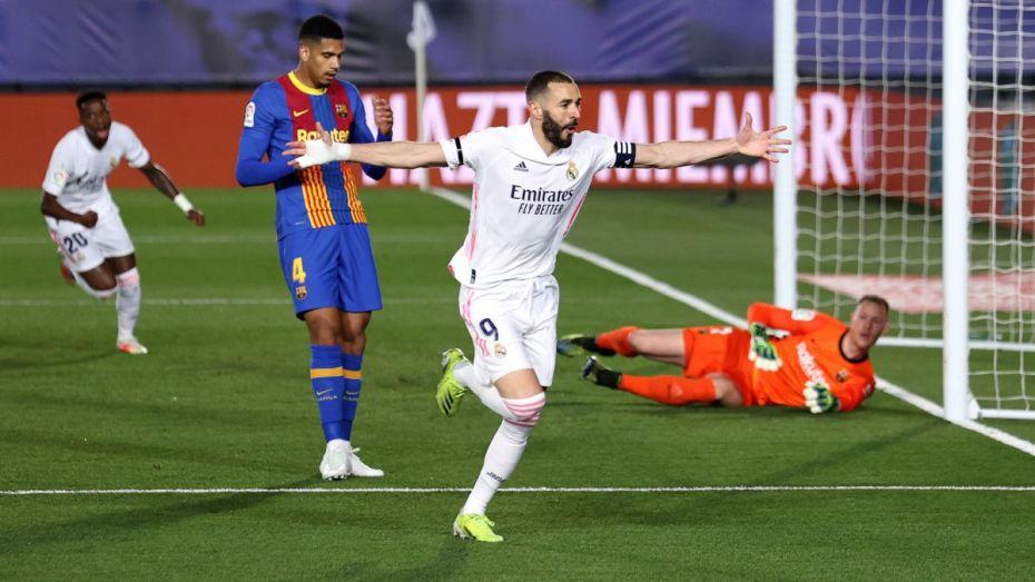 ريال مدريد يحسم لقاء الكلاسيكو وينتزع الصدارة
