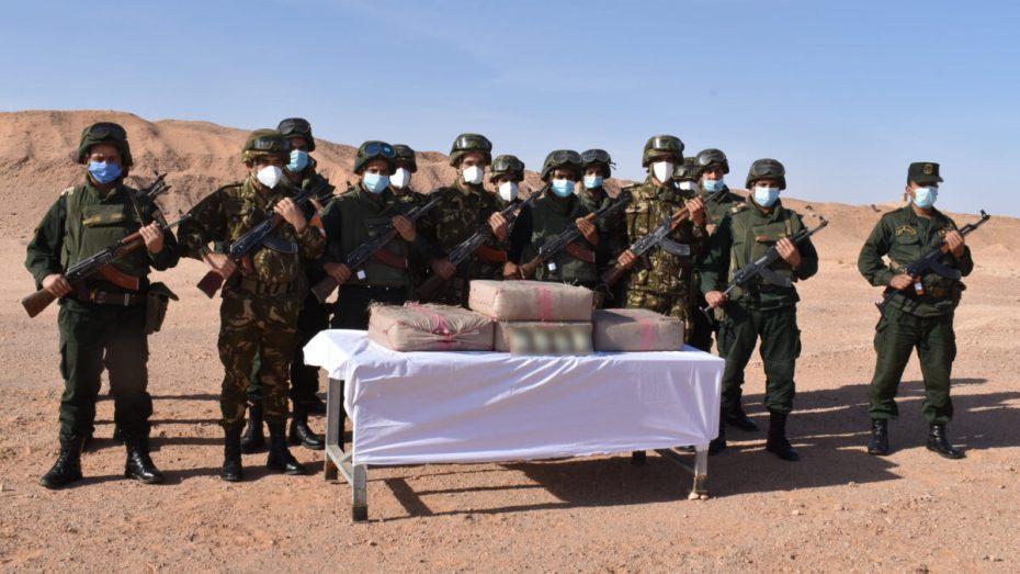 توقيف 45 تاجر مخدرات وحجز 19 قنطارا من الكيف قادمة من المغرب