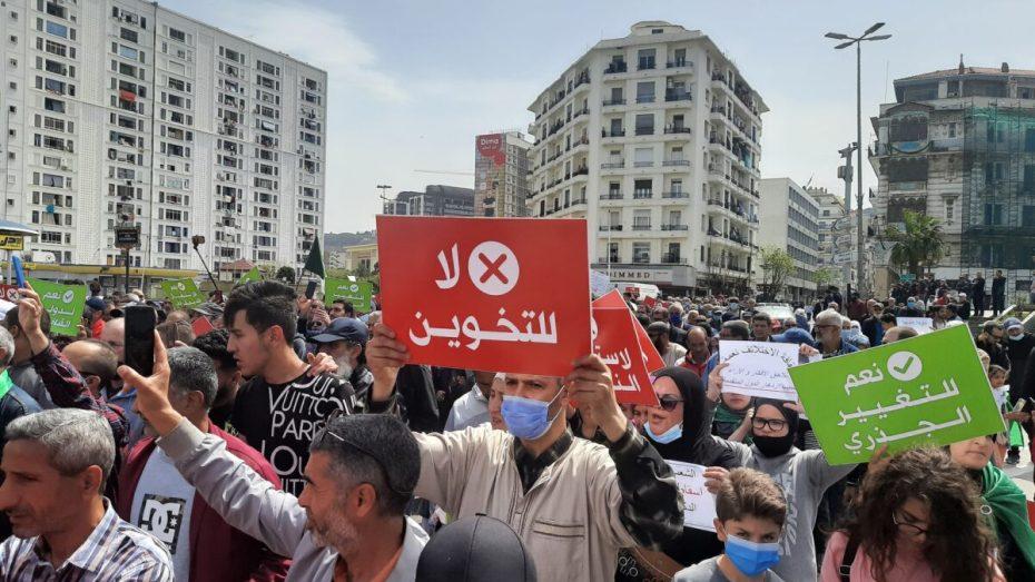 الجمعة 112.. تجدد مسيرات الحراك الشعبي