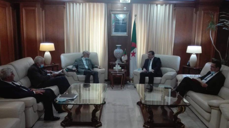 وزير الطاقة والمناجم يستقبل عددا من ممثلي منظمات أرباب العمل