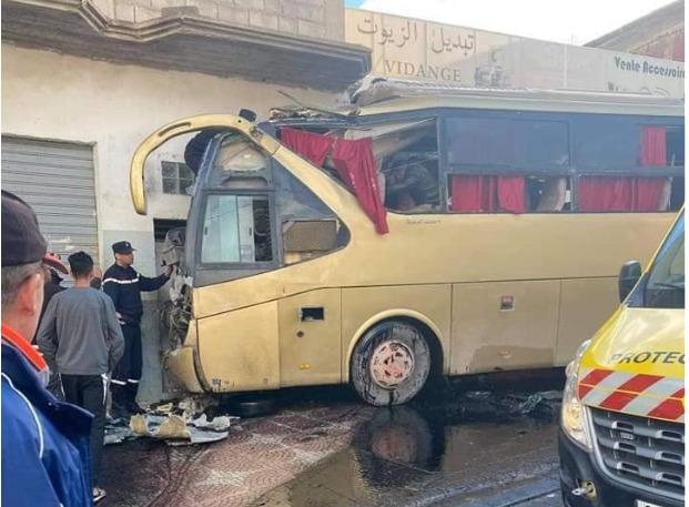 16 جريح بأم البواقي إثر حادث مرور