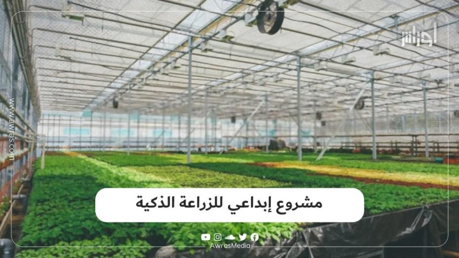 مشروع إبداعي للزراعة الذكية