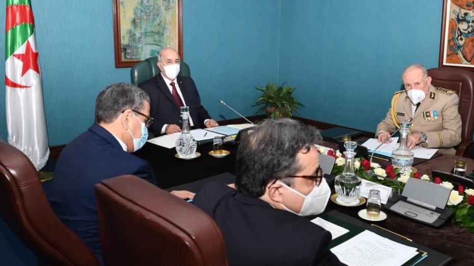 أهم ما جاء في اجتماع مجلس الأمن برئاسة عبد المجيد تبون