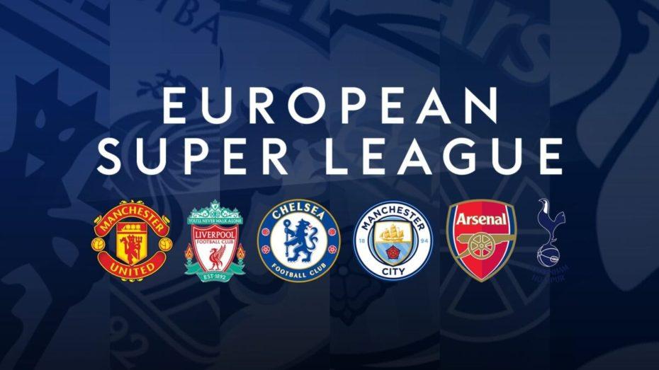 انسحاب جميع الأندية الإنجليزية من دوري السوبر الأوروبي