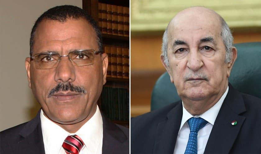 تبون يبحث مع بازوم سبل تعزيز العلاقات بين الجزائر والنيجر