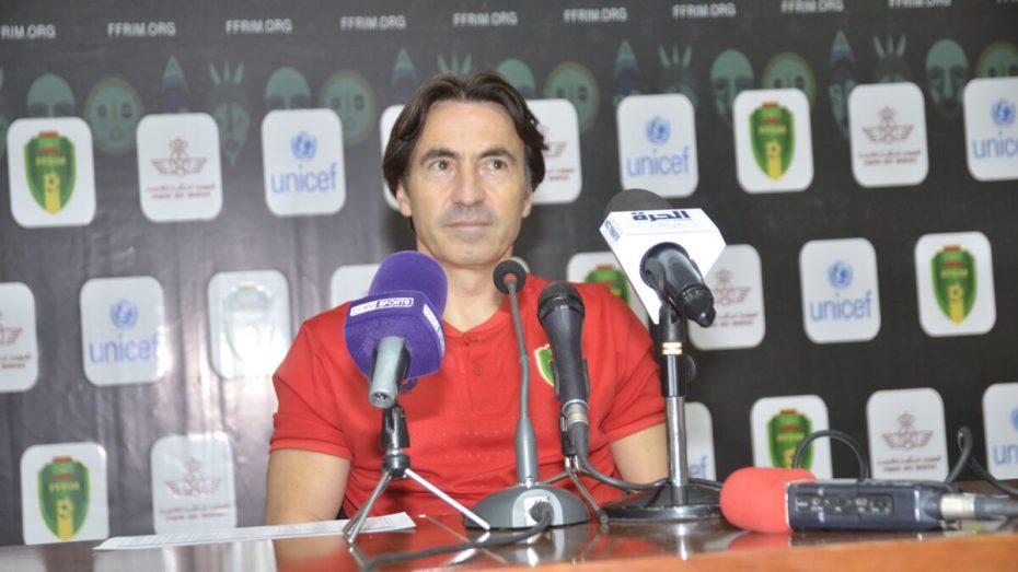 """مدرب المنتخب الموريتاني يتحدث عن مواجهة """"الخضر"""""""