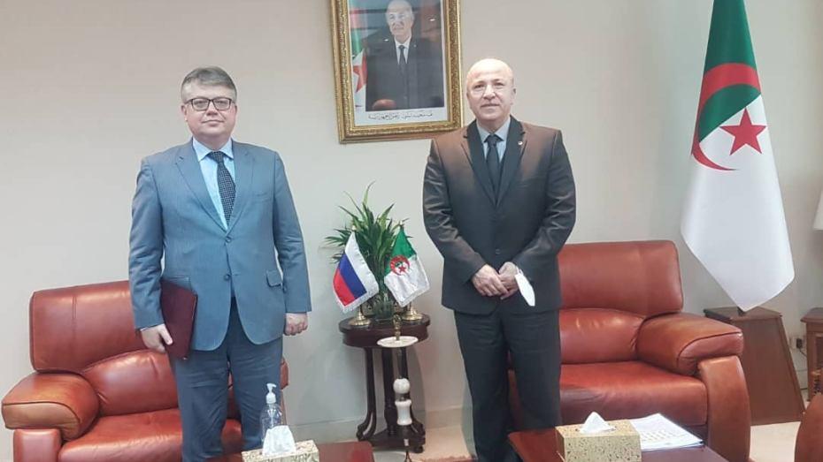 الجزائر تبحث مع روسيا سبل تعزيز التعاون الاقتصادي
