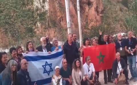 العدالة والتنمية المغربي يعلق على رفع العلم الصهيوني أمام الحدود الجزائرية