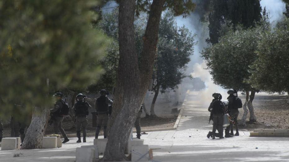 عقب إعلان الهدنة.. قوات الاحتلال تقتحم الأقصى وتعتدي على المصلين