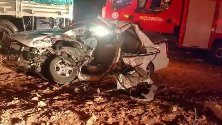 حادث مرور مروّع بغرداية يودي بحياة ثلاثة أفراد من عائلة واحدة