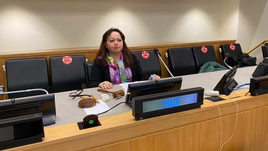 انتخاب سفيرة الجزائر بفيينا رئيسة للجنة دولية
