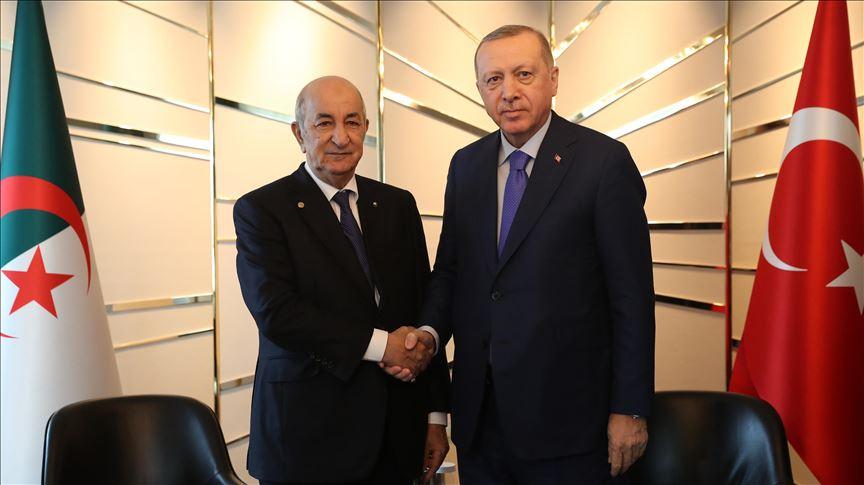 الرئاسة التركية تكشف ما دار بين تبون وأردوغان