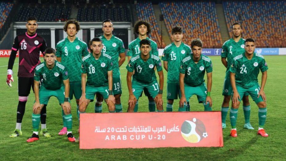 كأس العرب للأواسط: الجزائر تفوز على المغرب وتتأهل للمربع الذهبي
