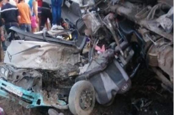 ارتفاع حصيلة المجزرة المرورية بين جيجل وقسنطينة إلى 18 شخصا