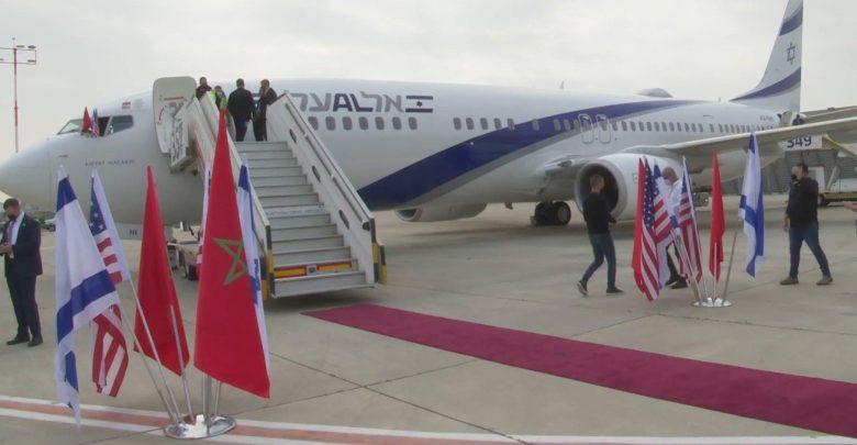 رسميا.. بداية الرحلات الجوية المباشرة بين تل أبيب ومراكش