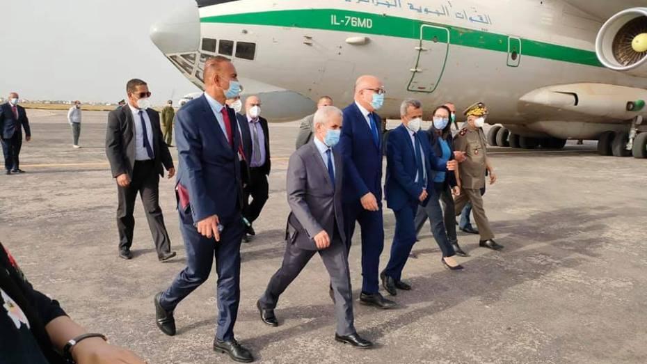 أول تصريح من بوزيد بعد وصوله تونس