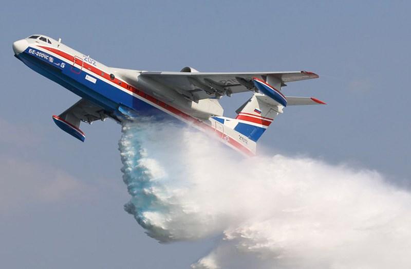 """هل تشتري الجزائر مبتلعة الحرائق الروسية """"الطائرة البرمائية""""؟"""
