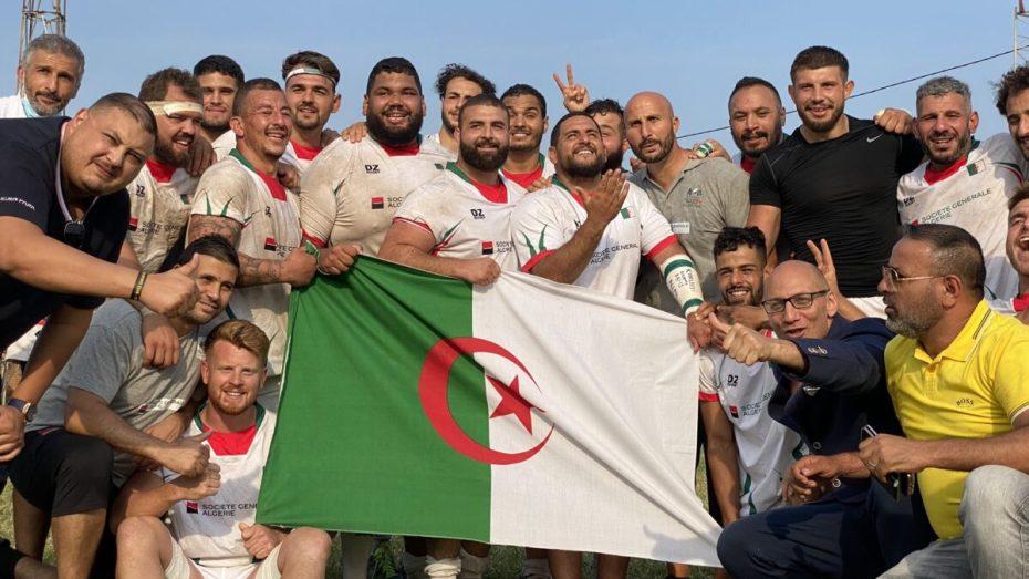 """المنتخب الوطني الجزائري للريغبي يخطو خطوة إضافية نحو """"مونديال"""" فرنسا"""