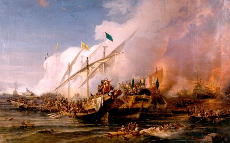 مؤرخ جزائري يُكذّب مشاركة الجزائر في معركة نافارين وتحطم أسطولها البحري
