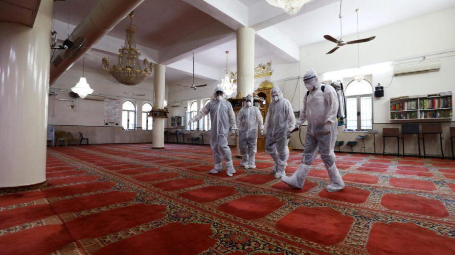 ما هي المساجد التي سيُجرى بها التلقيح ضد وباء كورونا اليوم؟