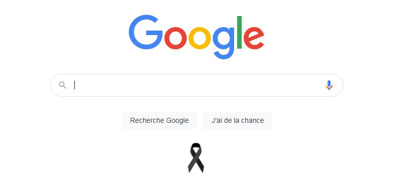 """""""غوغل"""" يعلن الحداد على أرواح ضحايا حرائق الغابات في الجزائر"""