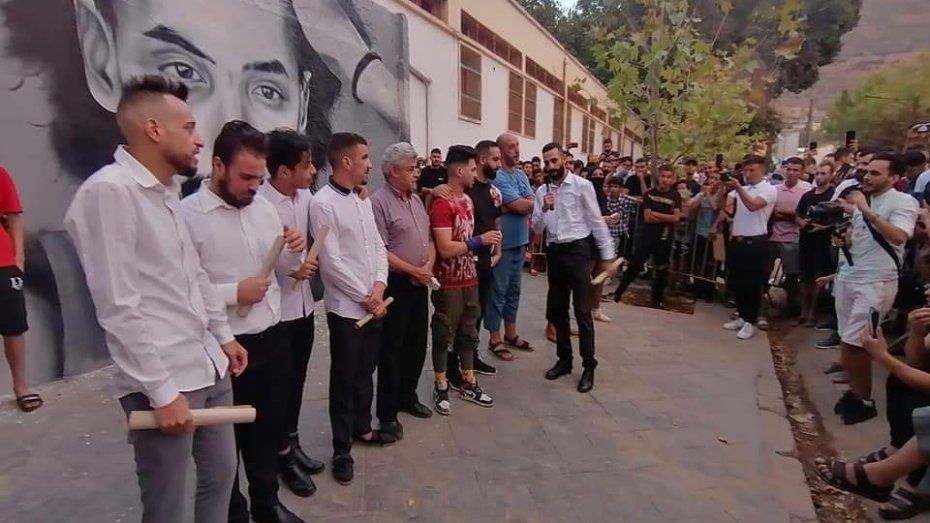 جدارية الشهيد جمال بن سماعين تحرّك مشاعر الجزائريين