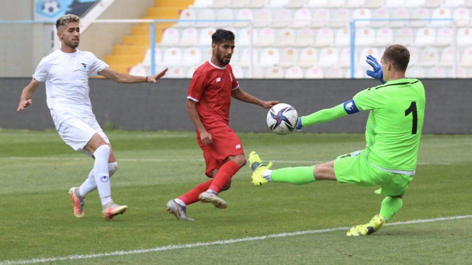 حسام الدين غشة يُواصل العزف على وتر تسجيل الأهداف مع ناديه الجديد