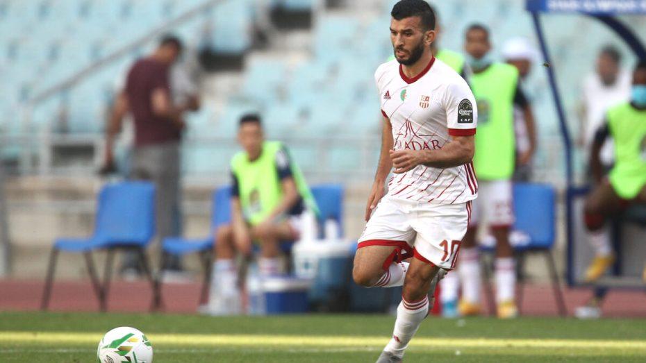 أمير سعيود يلتحق بناديه الجديد بعدما قرر مغادرة فريقه السابق نادي شباب بلوزداد