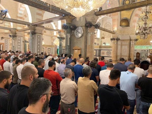 إقامة صلاة الغائب بالمسجد الأقصى على أرواح ضحايا الحرائق بالجزائر