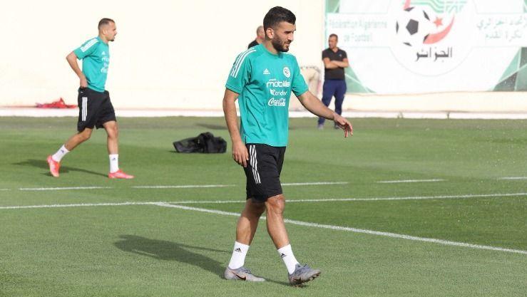 نادي شباب بلوزداد يكشف حقيقة خبر انتقال سعيود إلى أحد دوريات الخليج