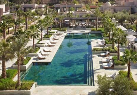شاهد.. الخضر يختارون الإقامة في أفخم فنادق مدينة مراكش