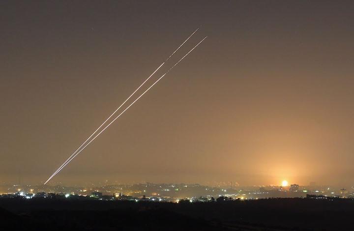 إطلاق صاروخ من غزة تجاه إسرائيل بعد القبض على أسيرين